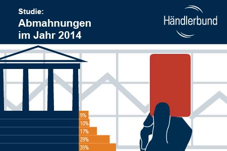 Titelbild Händlerbund Studie Abmahnungen 2014