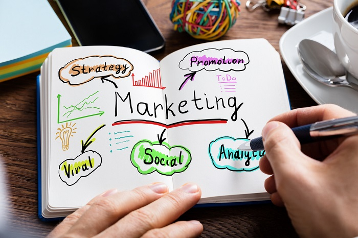 Online-Marketing-Visualisierung