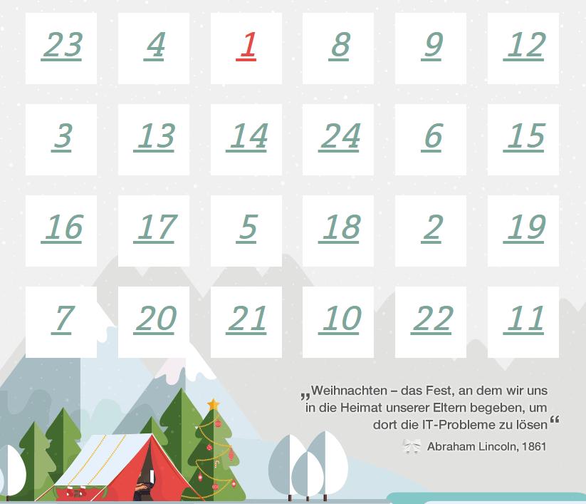 Chip De Weihnachtskalender.Digital Von Türchen Zu Türchen Die Schönsten Adventskalender Der