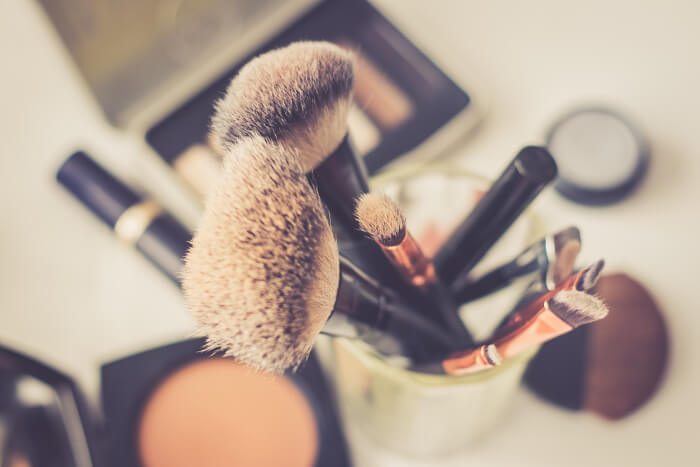 Beauty und Make-up: Pinsel und Co.