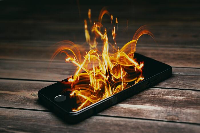 Iphone Brennt