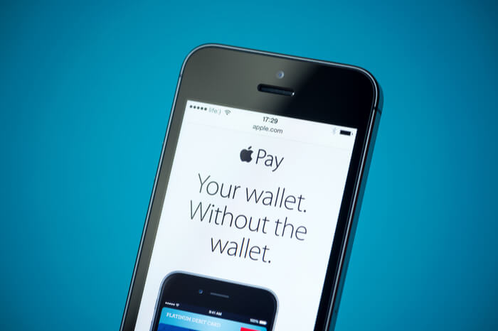 Apple Pay auf Smartphone