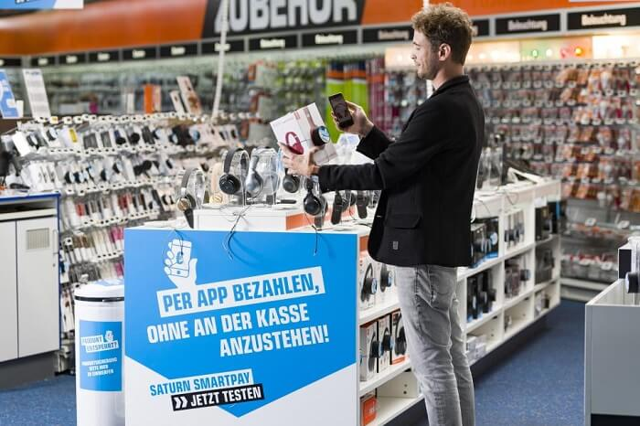 Saturn Smartpay im Laden