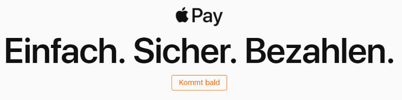 Apple Pay startet bald