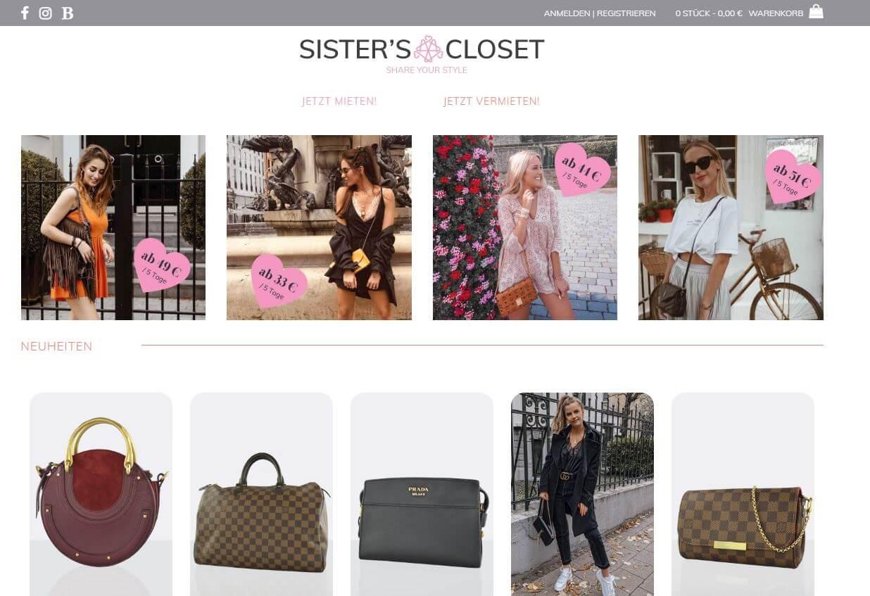 """Sister's Closet: """"Abwechslung ermöglichen, ohne"""