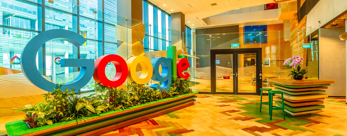 Google Quartier in Singapur
