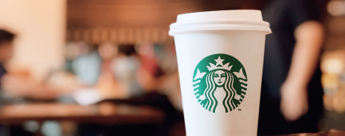 Starbucks-Kaffeebecher