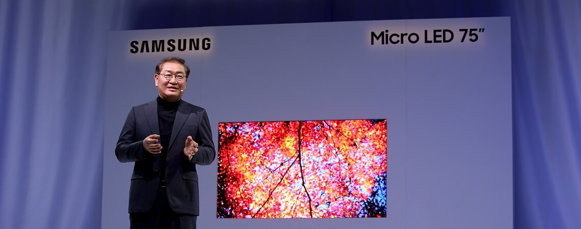 Samsung Micro-LED-TV