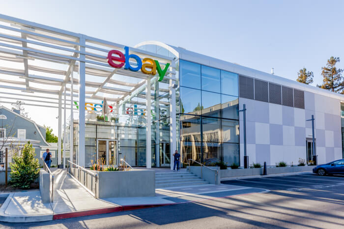 Ebay-Zentrale in Silcon Valley