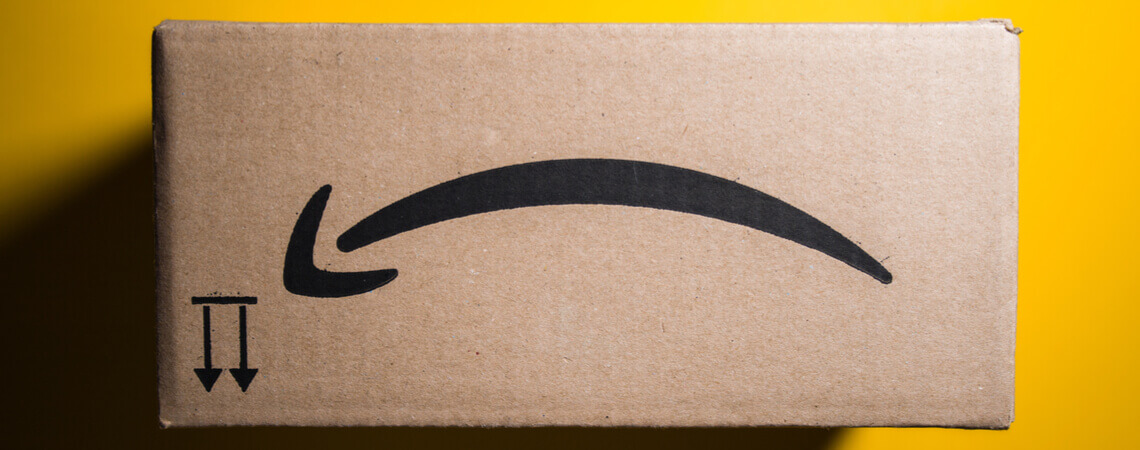 Trauriges Amazon-Paket