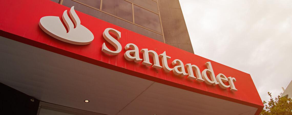 Santander Geld Einzahlen