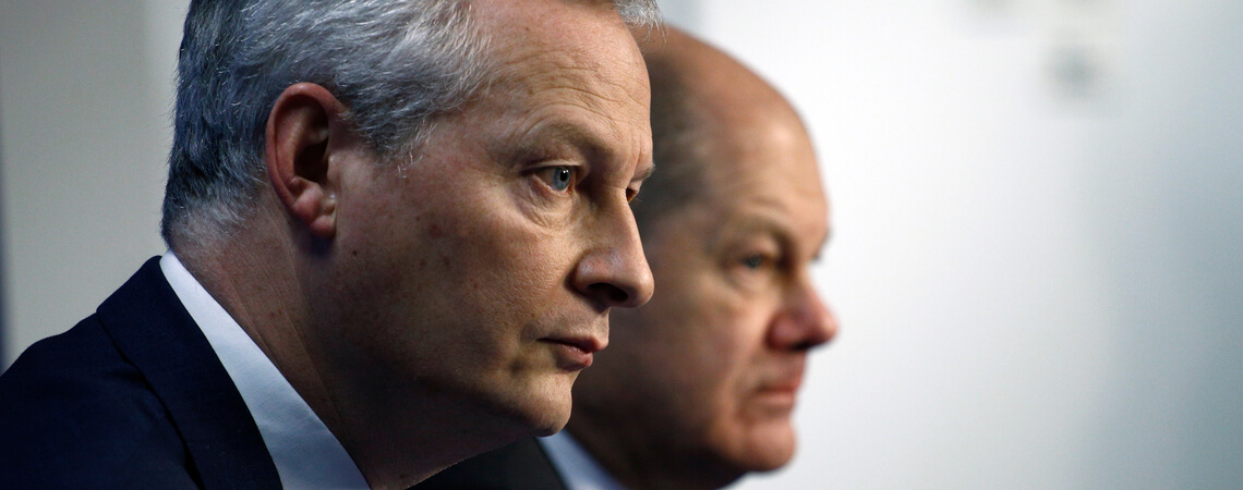 Olaf Scholz und Bruno Le Maire