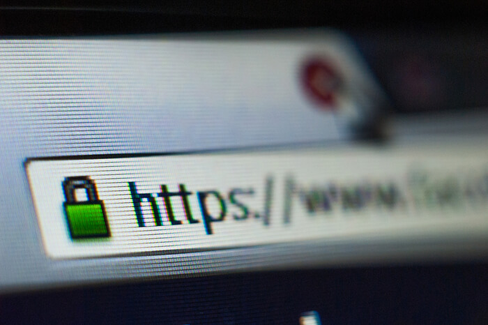 https in URL-Zeile