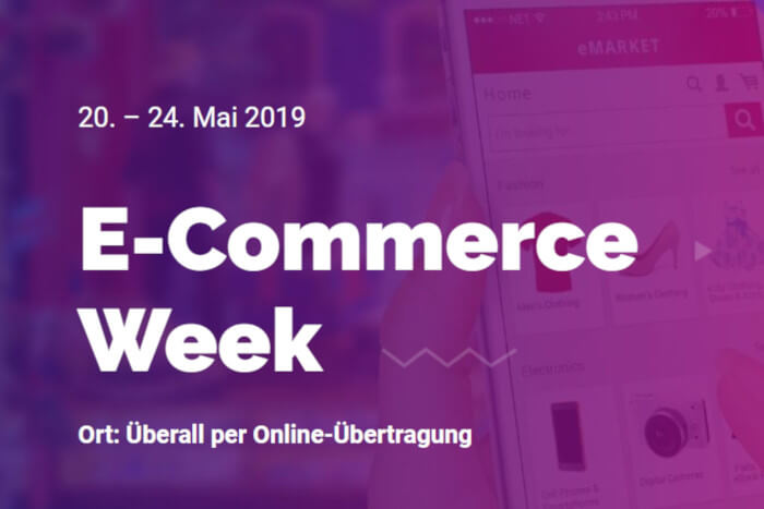 Bild zur E-Commerce-Week 2019
