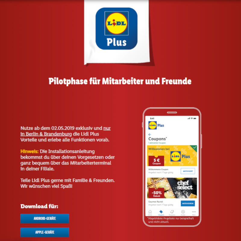 Lidl LidlPlus Screenshot