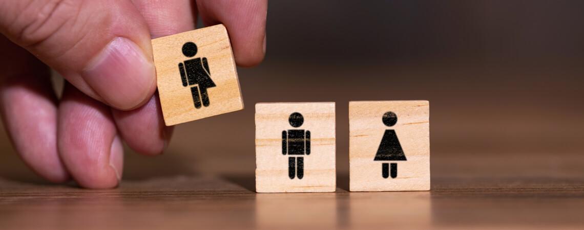 Geschlecht sterotyoes und frauen, die männerjobs suchen