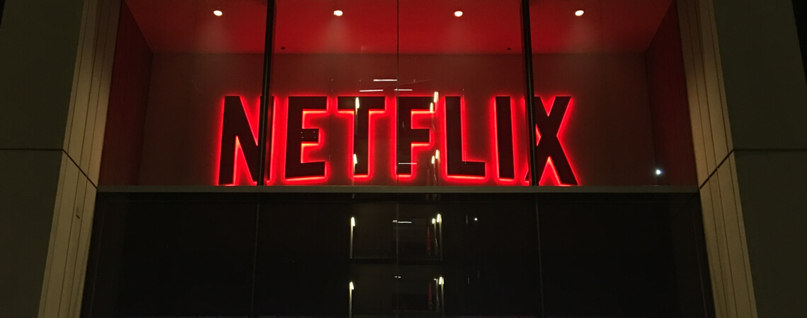 Eingang Netflix-Office in Hollywood