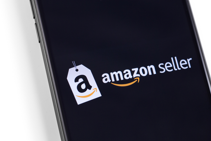 Amazon Seller auf Smartphone