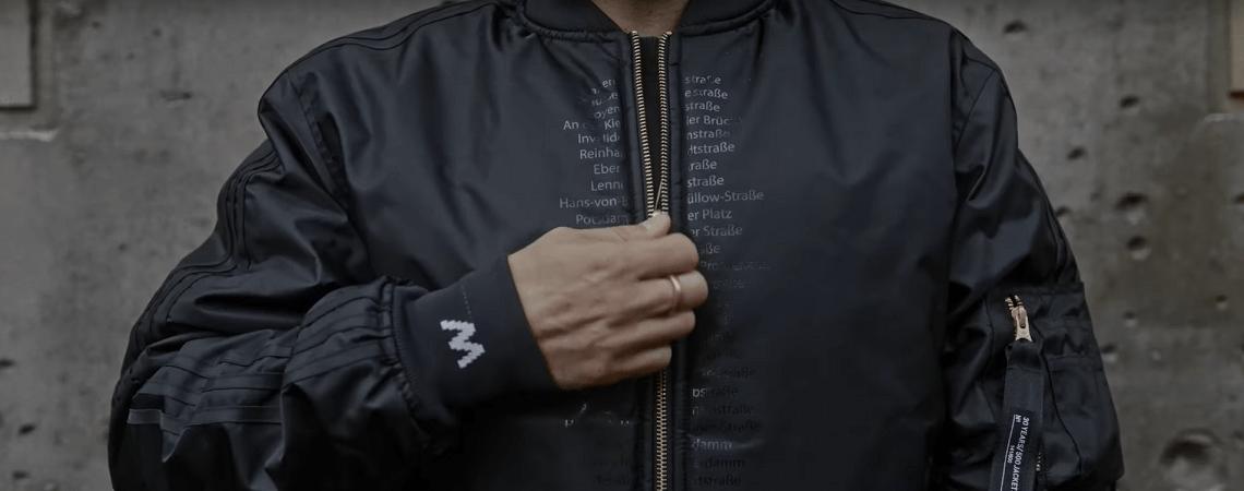 30 Jahre Mauerfall: Adidas bringt limitierte Wendejacke raus