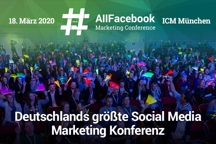 Veranstaltungshinweis All Facebook Marketing Conference