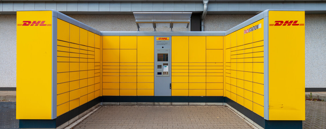 Packstation der DHL
