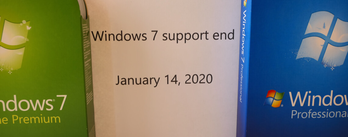 Windows 7 Support-Ende