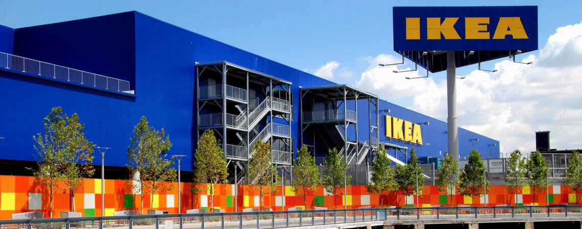 Ikea-Filiale in den USA