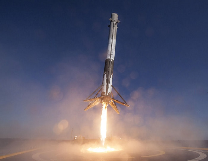 SpaceX Falcon-9-Rakete