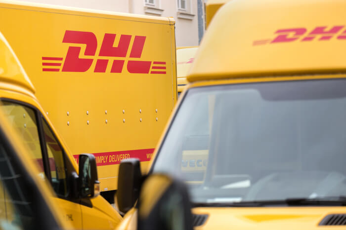 Flotte des Logistikers DHL