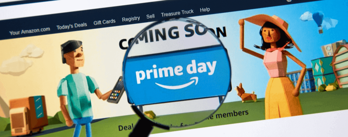 Amazon Prime Day: Bild der Website