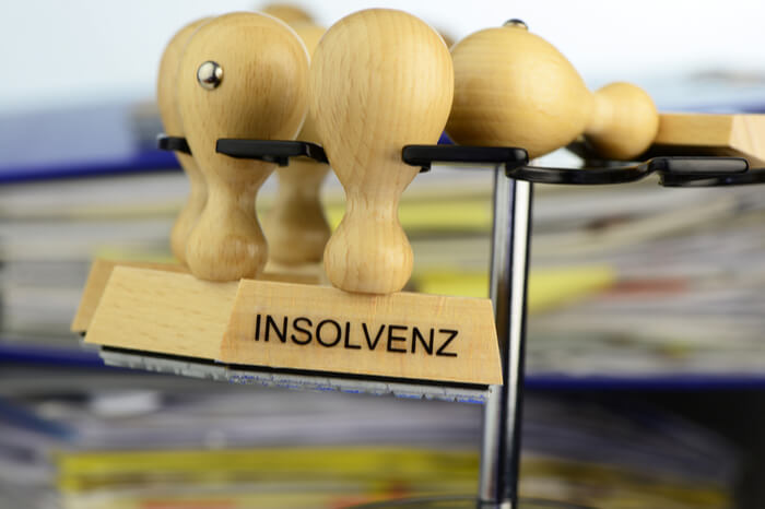 Stempel Insolvenz