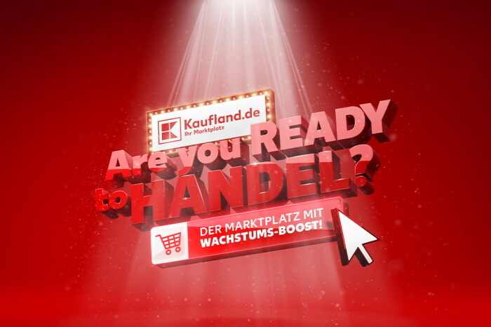 """Are you ready to Handel""-Schriftzug"