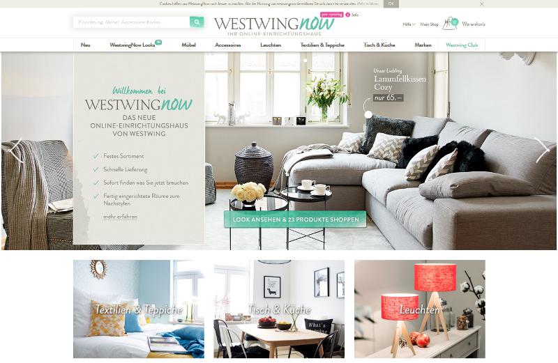 westwing er ffnet online m belhaus mit festem sortiment. Black Bedroom Furniture Sets. Home Design Ideas