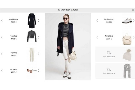 Shop the Look-Funktion