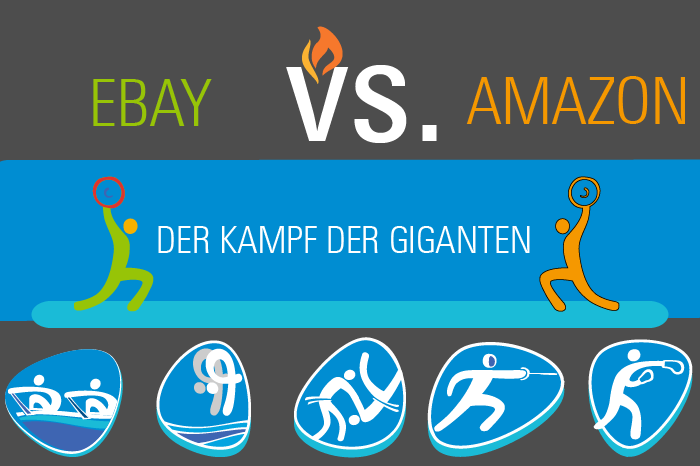 Amazon vs. Ebay Infografik