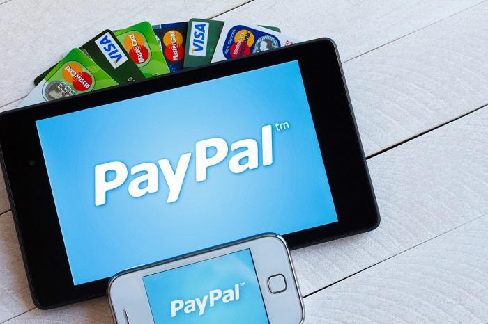 Paypal Karte.Paypal Visa Payment Unternehmen Intensivieren