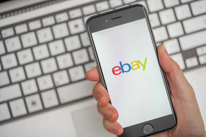 Ebay auf einem Smartphone