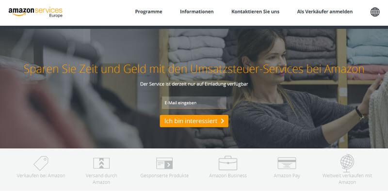 amazon seller umsatzsteueridentifikationsnummer