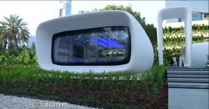 digital tech newsflash roboter bedient pizza hut kunden erstes haus aus dem 3d drucker. Black Bedroom Furniture Sets. Home Design Ideas