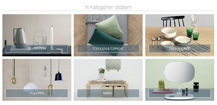 sch ner wohnen bekommt einen eigenen online shop. Black Bedroom Furniture Sets. Home Design Ideas