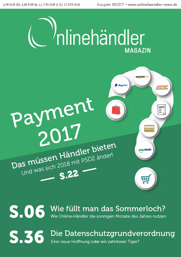 Payment 2017: Das müssen Händler bieten