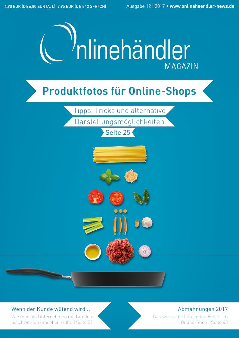 Produktfotos für Online-Shops