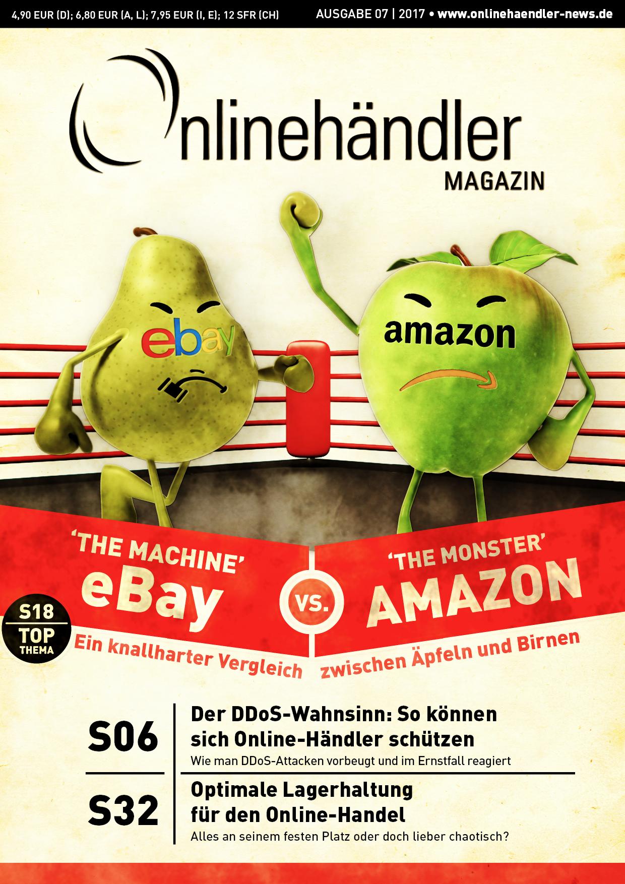Ebay vs. Amazon: Ein knallharter Vergleich