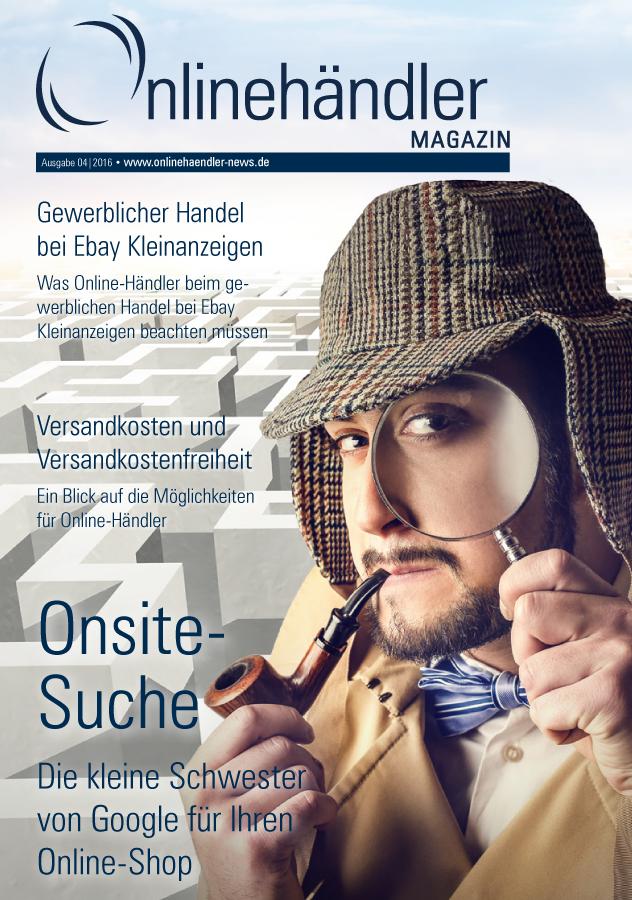 Onsite-Suche im Online-Shop